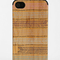Urban Outfitters - Painted Wood iPhone 4/4s Case