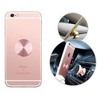Metal Plate Magnetic Car Phone Holder Accessories Matte Stainless Iron Sheets Use For Magnet Phone Support 32*32mm