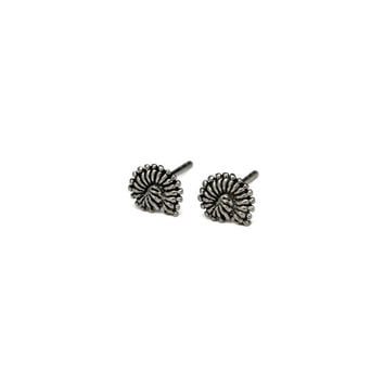 Silver Nautilus Seashell Stud Earrings, Shell Jewelry, Solid 925 Sterling Silver Jewelry, Small Swirl Shell Nautical Studs, Gifts Ideas