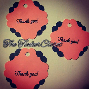 Wedding favor tags, thank you tags, party favor tags, party thank you tags, bridal shower thank you tags, bridal shower favors, shower favor
