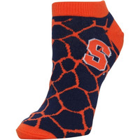 Syracuse Orange Women's Giraffe Print Ankle Socks – Navy Blue