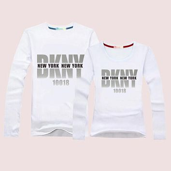 DKNY Momen Men  Casual Long Sleeve Top Sweater Pullover