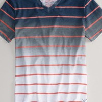 AEO Men's Faded Stripe T