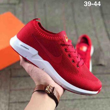 NIKE AIR ZOOM SWIFT mesh breathable and comfortable sports shoes Red