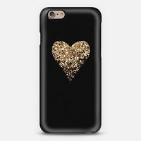 golden heart iPhone 6 case by Marianna Tankelevich | Casetify