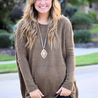 Piko Sweater-Brown