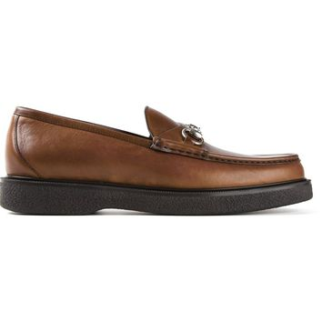 Gucci horse bit buckle loafers