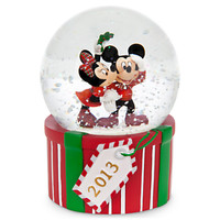 Disney Mickey and Minnie Mouse 2013 Snowglobe | Disney Store