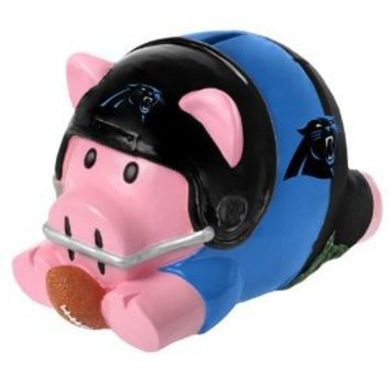 NFL Carolina Panthers Action Piggy Bank