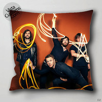 Imagine Dragons Person Pillow Case, Chusion Cover ( 1 or 2 Side Print With Size 16, 18, 20, 26, 30, 36 inch )