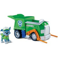 Nickelodeon Paw Patrol - Rocky's Recycling Truck, Vehicle and Figure - Walmart.com