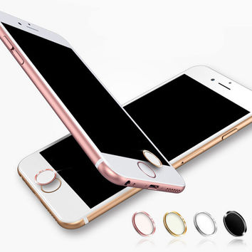 iPhone 5s 6 6s Plus and iPhone 7 7Plus Fingerprint Iidentification Home Keys Protect Stick + Gift Box