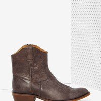 Nasty Gal Fox Fire Leather Boot