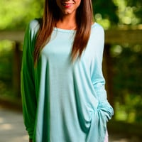 The Aiden Tunic, Mint