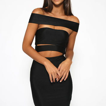 Feeling Alive Dress - Black