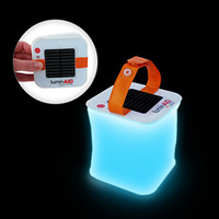 LuminAID PackLite Spectra: Color-Changing Solar Light