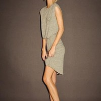 DELTA POCKET DRESS at LNA Clothing in CRS, GRS, TBB, Tri Blend Heather Grey