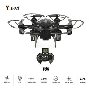 Original Yizhan iDrone i6s 2.4G 4CH 6-Axis Gyro 2MP Camera RTF RC Hexacopter with 3D-flip CF Mode One-key Return Function