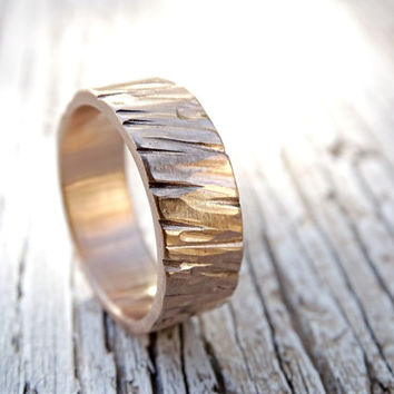 unique mens ring bronze, wide bronze ring, cool mens ring bronze, hammered ring bronze, mens personalized ring, bronze anniversary gift