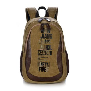 High Quality Canvas Backpack for Women Unisex Backpack Bags Men and Women Travel Backpack Preppy Style School Bags