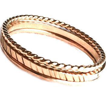 Gold Ring, Simple Gold Ring, Thin Gold Ring, 14k Gold Ring, Gold Stacking Ring, Yellow Gold Ring