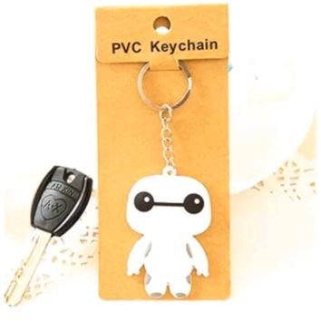 Brand New Big Hero 6 Baymax Normal Form Keychain