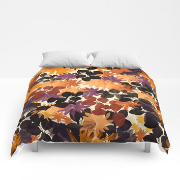 Floral 1 Comforters by NaturalColors