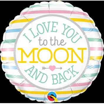 I Love You to the Moon Balloon