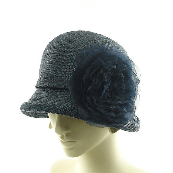 cloche hat for new 1920s 1930s from themillineryshop on