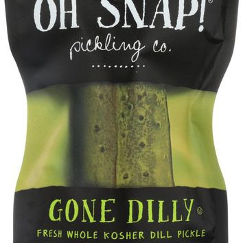 OH SNAP: Gone Dilly Fresh Kosher Dill Pickle, 1 ea