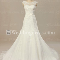 Elegant Western Wedding Dress BG168