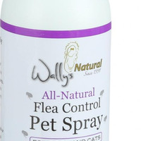 Wally's Natural Products All Natural Flea Control Pet Spray - 12 Oz - 1 Count
