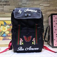 cc spbest Gucci Backpack Butterfly