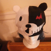 Monobear/Monokuma Fleece Hat