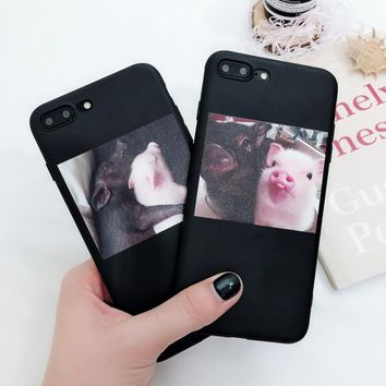 Cute Pig iPhone Case