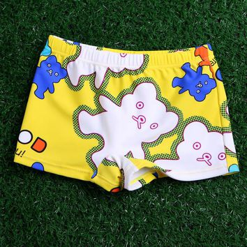 New 2018 Baby Boys Swimming Trunks 0-5Y Cartoon Nylon Bathing Suit Children Swim Shorts Kids Baby Toddler Beach Pants Swimwear