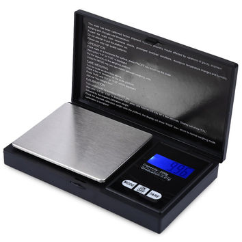 Portable Digital Gram Pocket Scales Balance HF-08B Electronic Scale 200g Capacity 0.01 Accuracy Mini Weighing Device with LCD
