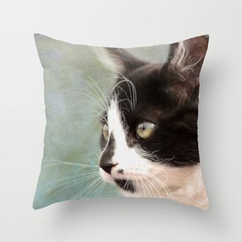 The Ships Cat Throw Pillow by Linsey Williams Wall Art, Clothing, And