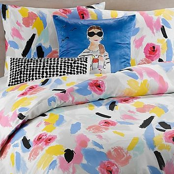 kate spade new york Paintball Floral Comforter
