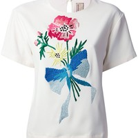 Antonio Marras embroidered t-shirt