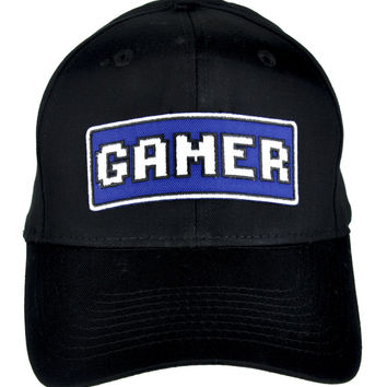 Gamer Hat Baseball Cap Alternative Clothing Pixles