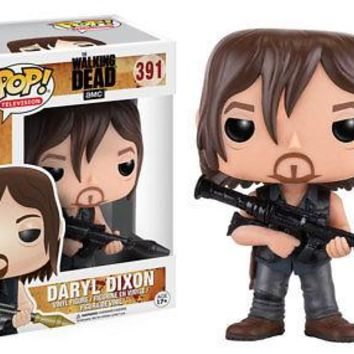 Funko Pop Television: The Walking Dead - Daryl (Rocket Launcher) Vinyl Figure
