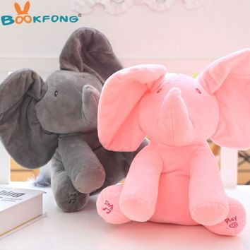 Peek A Boo Elephant Plush