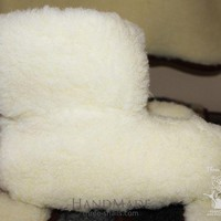 DCCK8X2 Wool ugg slippers 'Clouds'