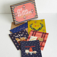 French In Bonjour Own Words Notecard Set by Chronicle Books from ModCloth