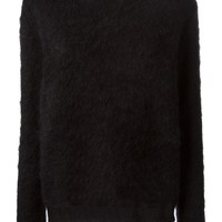 Forte Forte contrasting see-through back sweater