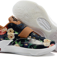 """Nike Zoom KD 7  Kevin Durant 7 Ⅶ  """"Floral Version""""  Basketball Shoes"""