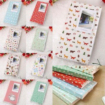 Free Ship 84 Pockets 1Pcs Mini Film Instax Polaroid Album Photo Storage Case Fashion Home Family Friends Saving Memory Souvenir