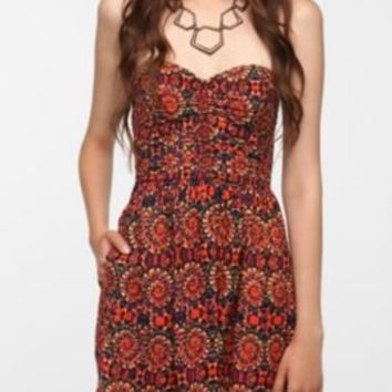 UrbanOutfitters.com > Band Of Gypsies Strapless Sundress