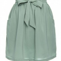 Flirty & Flouncy Skirt in Mint